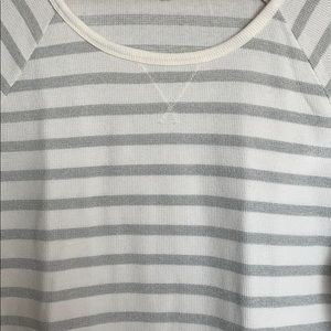 Sonoma Tops - Womens Sonoma Striped Knit Top Size S/M